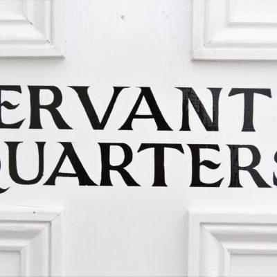 Servants Quarters Front Door