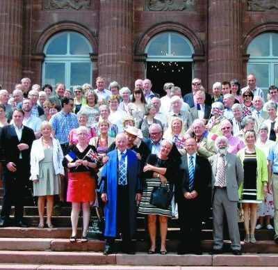 Leominster and Saverne Twinning Group Photo