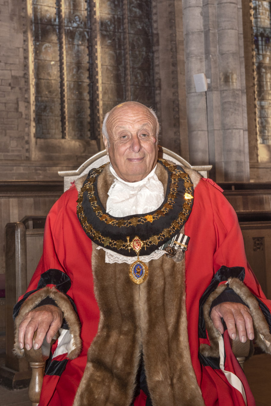 Mayor Clive Thomas