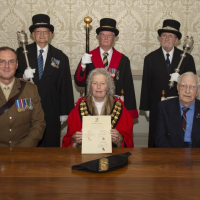 Official Armed Forces Covenant Group At Council Office (5)