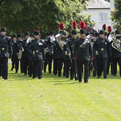 The Rifles Band in the Grange