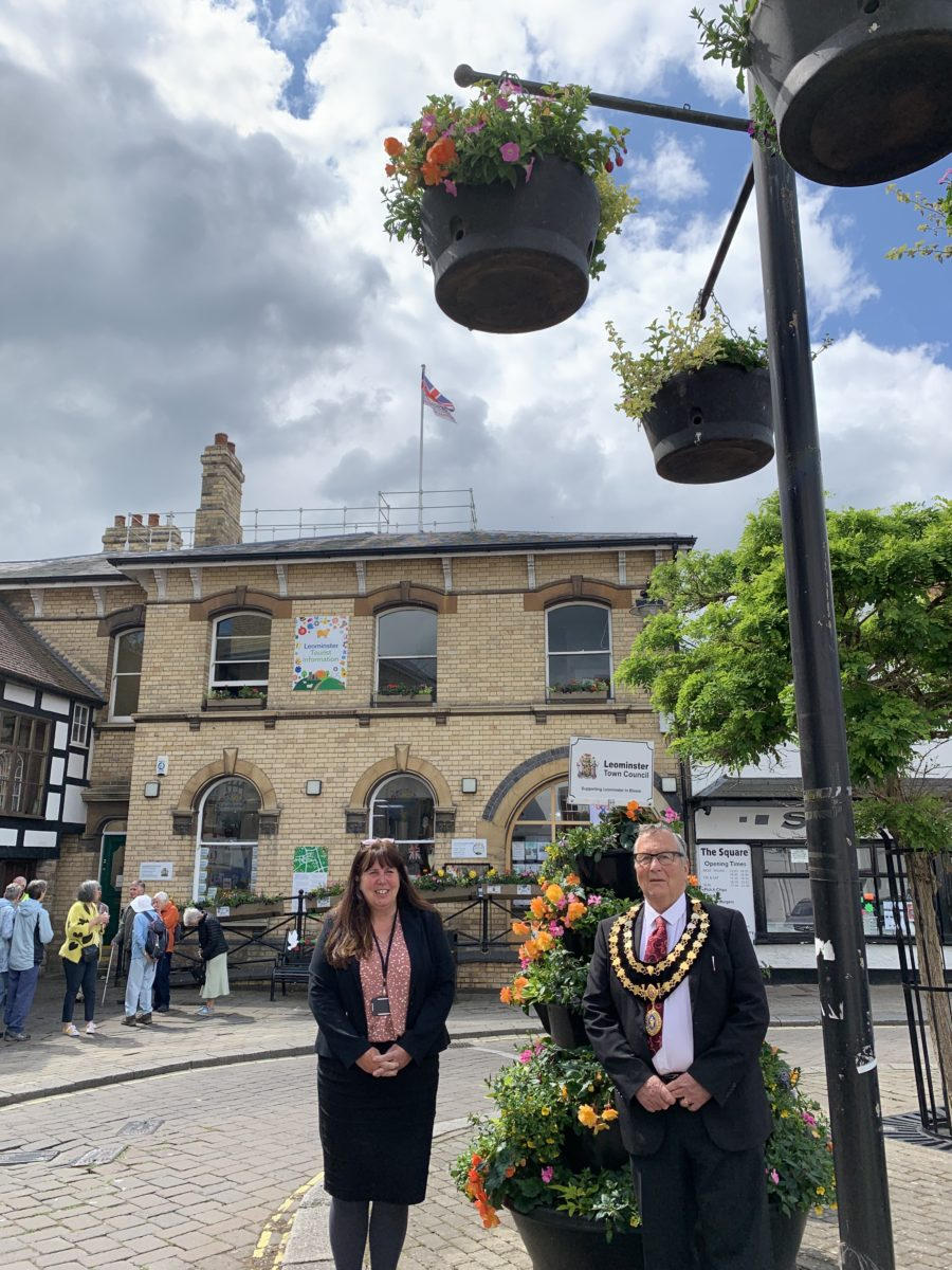 Flag Raising Armed Forces Day Mayor and Town Clerk